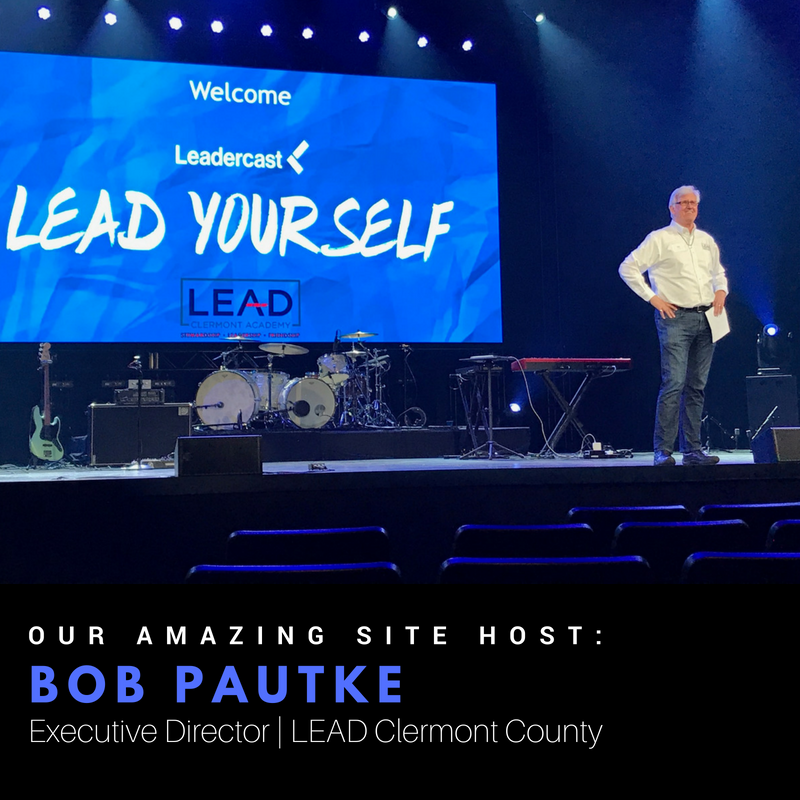 Leadercast Site Host Bob Pautke