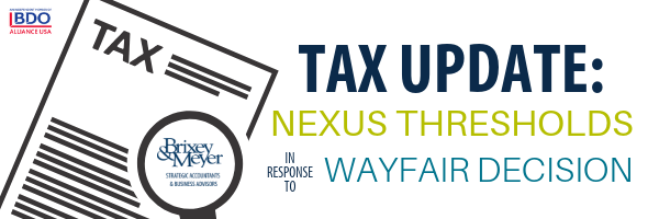 Tax Email Header